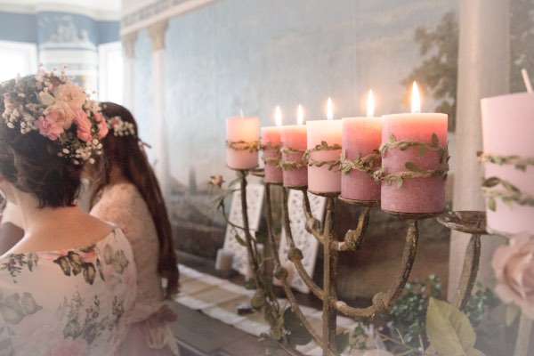 Galerie-Kerzenleuchter